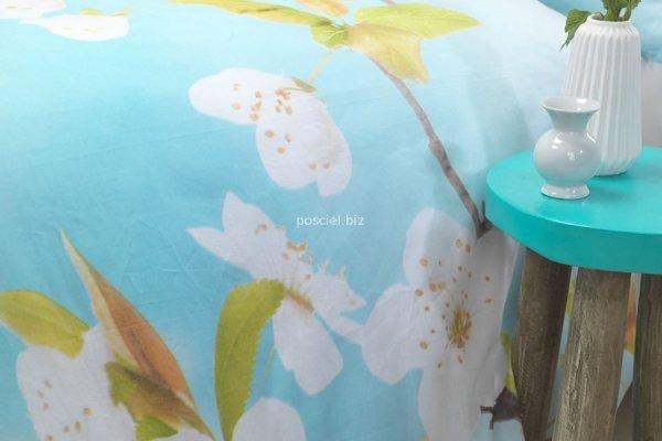 Pościel bawełniana Blosom white 200x220