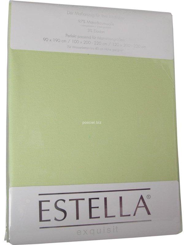 Prześcieradło zwirn-jersey z gumką Estella maigrun