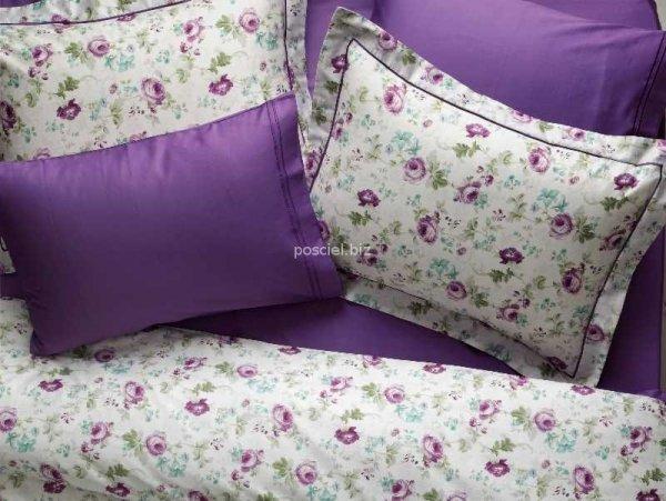 Tivolyo pościel satynowa Garden violet 200x220
