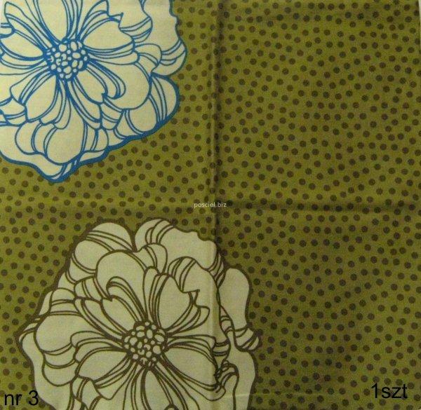 Poszewki bawełniane sypialniane, rózne wzory