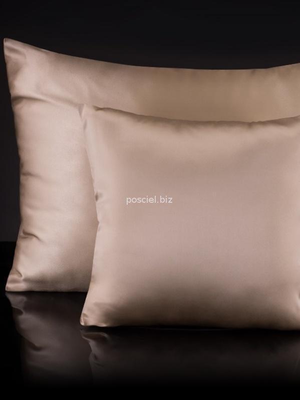 Malbery jedwabna poszewka na poduszkę beige 40x40, 40x60, 50x70, 70x80