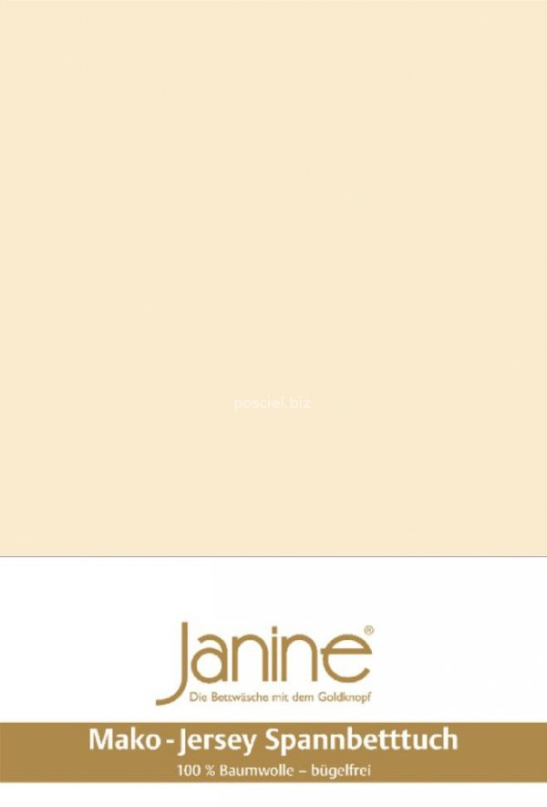 Janine prześcieradło jersey z gumką leinen