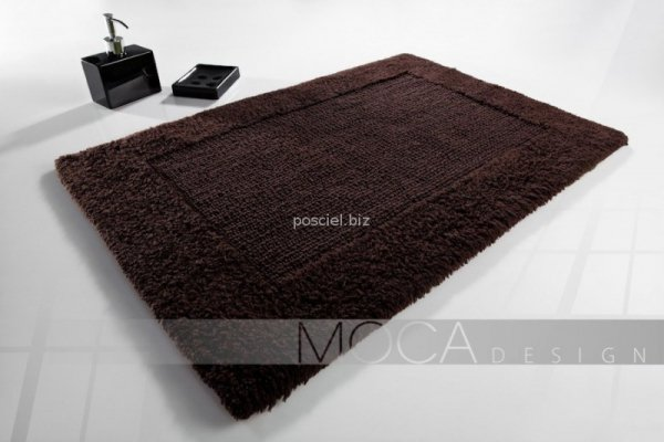 Dywanik łazienkowy MOCA Design brązowy 60x60, 50x75, 60x100,