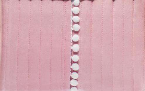 Posciel.biz gustowna różowa narzuta z mikrofibry 220x240