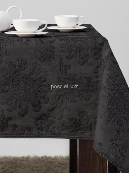 Obrus dekoracyjny czarny