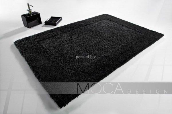 Dywanik łazienkowy MOCA Design czarny 60x60, 50x75, 70x130