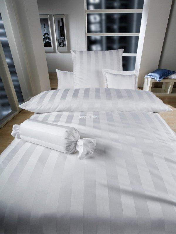 Curt Bauer pościel z mako-bawełny żakardowej Como kolory 2044 155x200