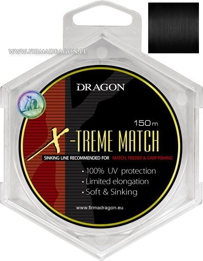 Żyłka DRAGON X-TREME MATCH Soft &Sinking 150 m 0.18 mm/2.90 kg