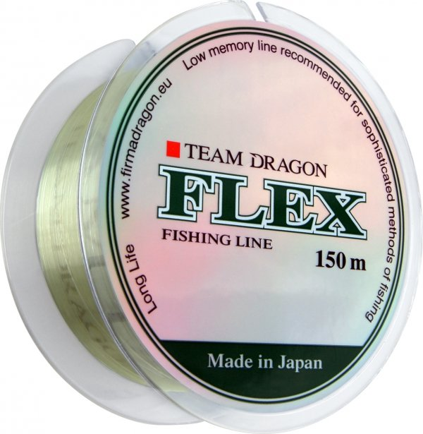 Żyłka TEAM DRAGON FLEX 150 m jasnozielona 0.22 mm/5.75 kg