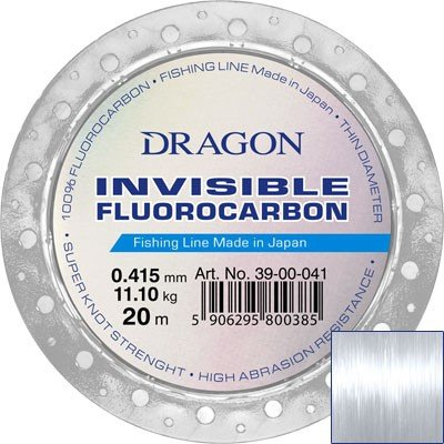Fluorocarbon DRAGON INVISIBLE 20m 0.14 mm/1.50 kg clear