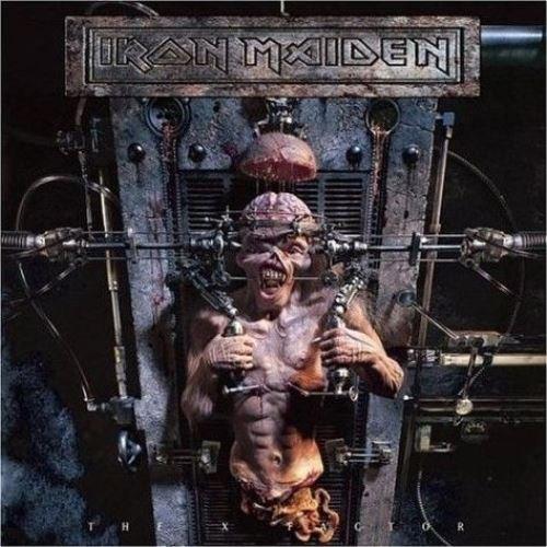 Iron Maiden - The X Factor [CD], Okładka