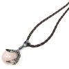 naszyjnik Kwarc Różowy w Smoczej Łapie - wisiorek z kamieniem naturalnym