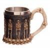 gotycki kufel - kubek ze szkieletami - dekoracyjny kufel do piwa