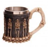 duży kubek - Gotycki Kufel ze Szkieletami