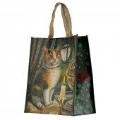 Kot Przygoda Czeka - torebka zakupowa