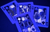 Świecące klasyczne karty do gry Tragic Royalty