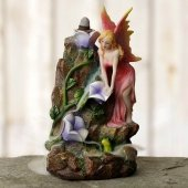 Elf i Kwiaty - podstawka na kadzidła zwrotne + GRATIS kadzidełka