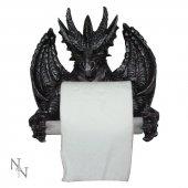 Smok z uchwytem na papier toaletowy