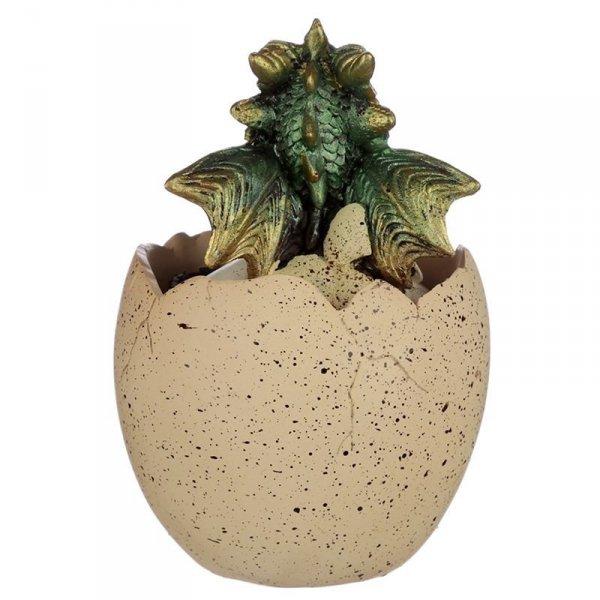 szkatułka na biżuterię Smocze Jajo i Zielony Smok