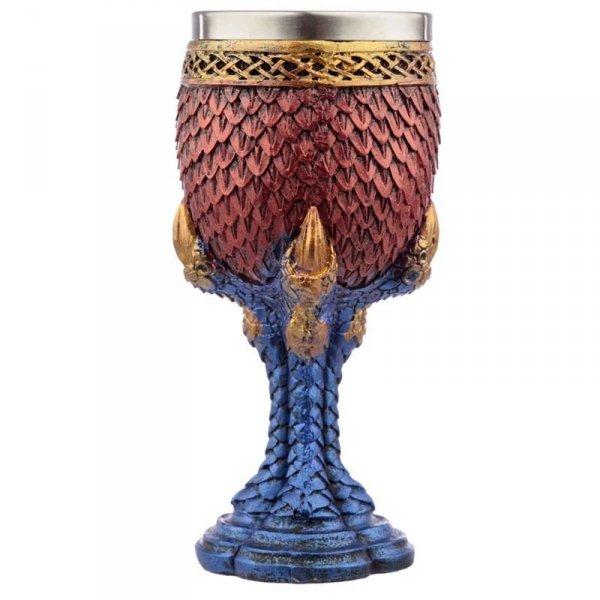puchar Smocze Łuski - smoczy kielich dekoracyjny, w kształcie smoczej łapy
