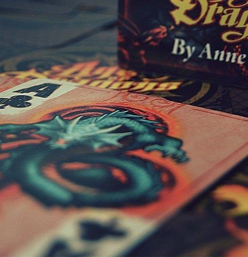 karty do gry w pokera klasyczne Bicycyle ze smokami Age of dragons Anne Stokes