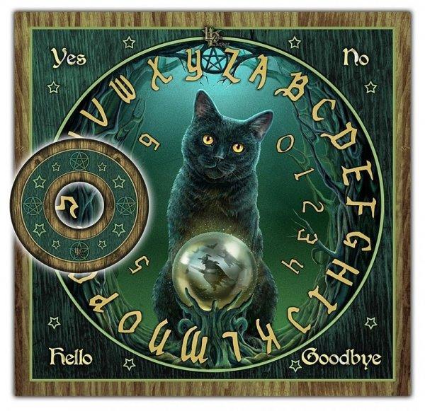 Lot Czarownic - Rose of the Witches - tablica ouija do rozmów z duchami