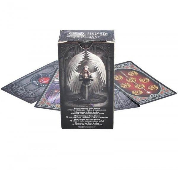 Anne Stokes Gothic Tarot - talia kart tarota, gotycki tarot