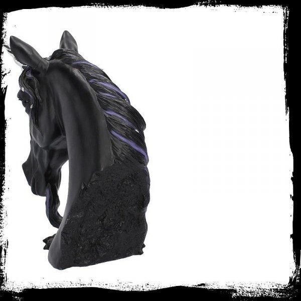 czarny jednorożec jewelled midnight popiersie jednorożca figura figurka na prezent