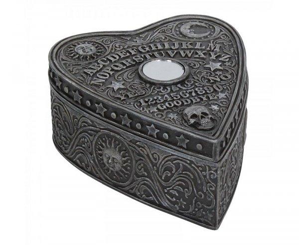 Tabliczka Duchów - szkatułka ozdobiona jak plansza ouija