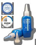Klej do gwintów rurowych niebieski MULTIBOND 5325 średni