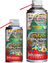 Smar do łożysk z teflonem PTFE BGT 1697 TOP 400ml spray JOHANSSON