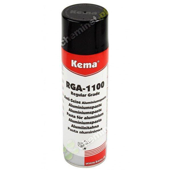 RGA-1100 Pasta montażowa, przeciwzapieczeniowa (miedź+aluminium+grafit) 500 ml KEMA