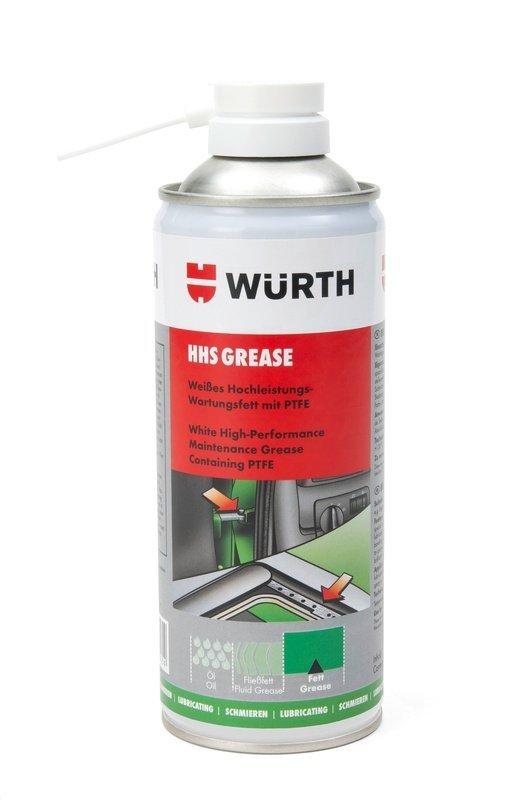 HHS GREASE Biały smar do konserwacji z dodatkiem PTFE 400 ml