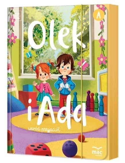 Olek i Ada. Trzylatek. Poziom A. Pakiet MAC