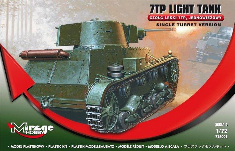 Czołg Lekki Jednowieżowy 7TP Polski