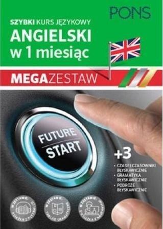 W 1 miesiąc - Angielski Megazestaw PONS