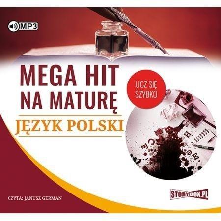 Mega hit na maturę. Język polski CD