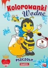 Kolorowanka wodna Pszczoły