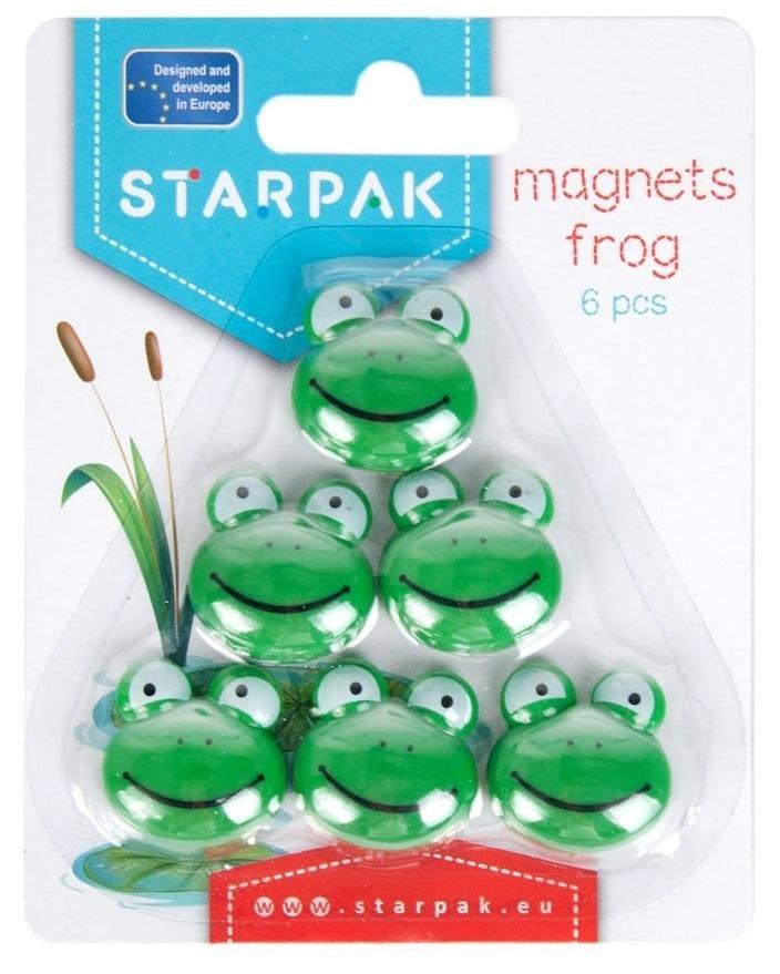 Magnes żabka 6szt