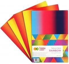 Tektura falista A4/5K Rainbow HAPPY COLOR