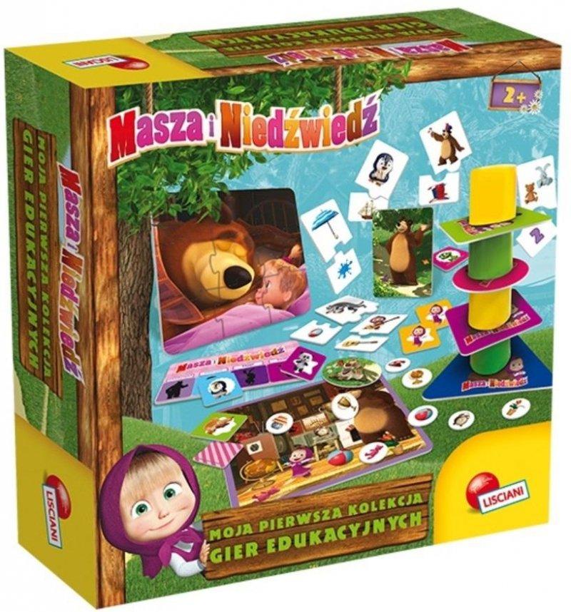 Zestaw gier edukacyjnych Masza i Niedźwiedź