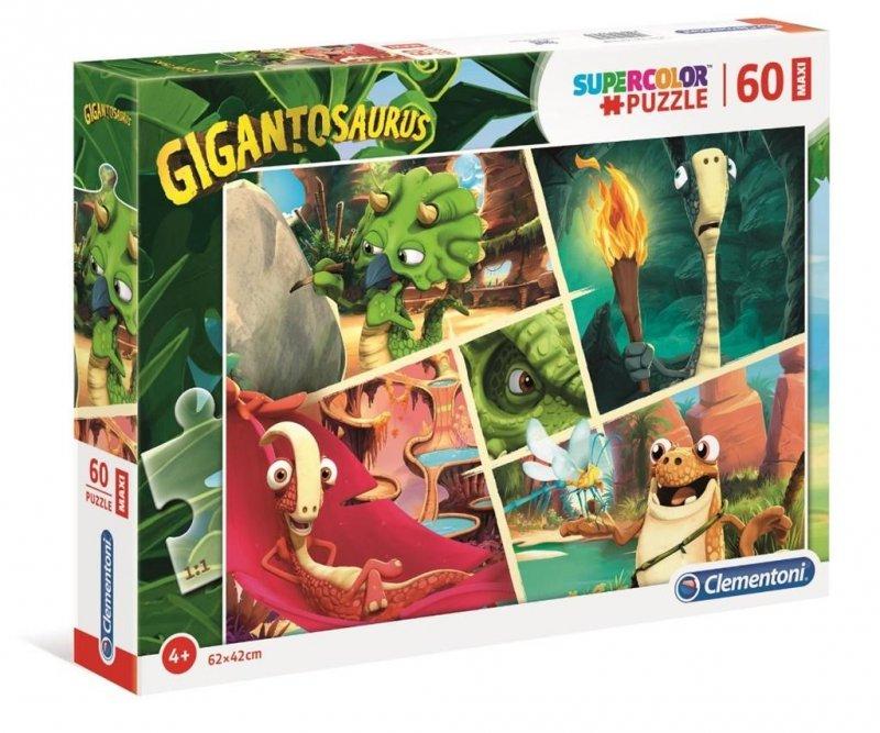 Puzzle 60 Maxi Super Kolor Gigantosaurus