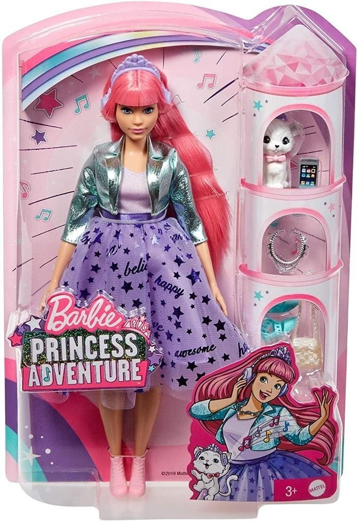 Barbie Przygody księżniczek Lalka Daisy