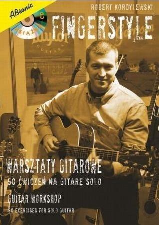 Fingerstyle - warsztaty gitarowe 50 ćwiczeń...+ CD