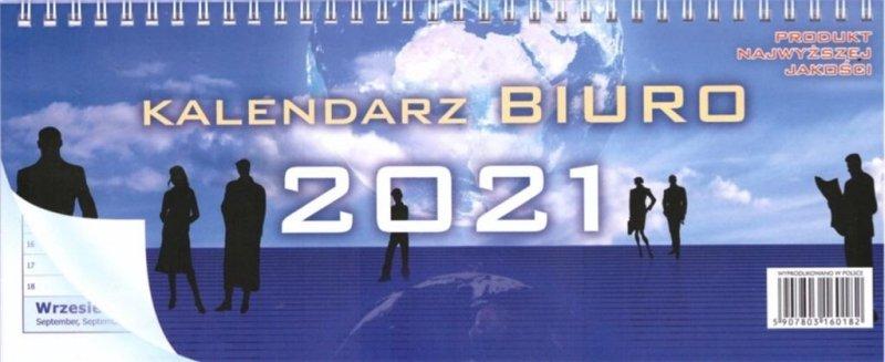 Kalendarz 2021 Biurkowy poziomy dwustronny