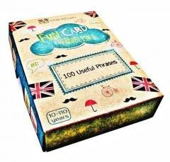 Fun Card English 100 Useful Phrases CREATIVO
