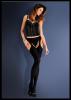 Bielizna-Rajstopy Strip Panty Micro EROTICA STRIP PANTY MICRO Czarne M/L