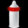 Prezerwatywy-Egzo Hot Red