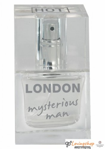 Feromony-HOT Pheromon Parfum LONDON mysterious man 30ml