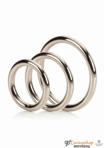 Pierścień-SILVER RING 3 PIECE SET